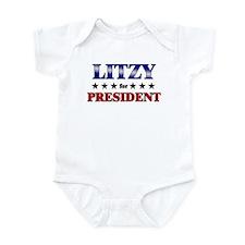 LITZY for president Infant Bodysuit