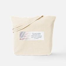 JFK Negotiate Tote Bag