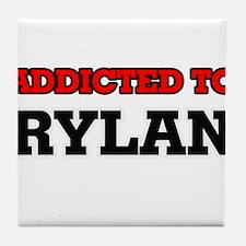 Addicted to Rylan Tile Coaster