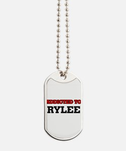 Addicted to Rylee Dog Tags