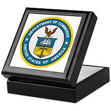 Department Of Commerce<BR> Keepsake Box