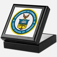 Department Of Commerce<BR> Keepsake Box