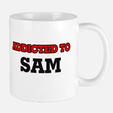 Addicted to Sam Mugs