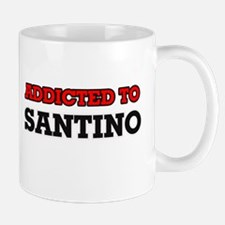 Addicted to Santino Mugs