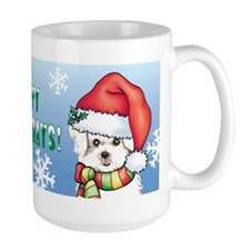 Holiday Maltese Mug