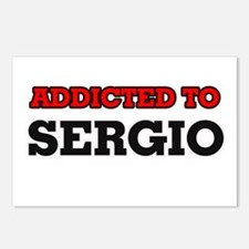 Addicted to Sergio Postcards (Package of 8)