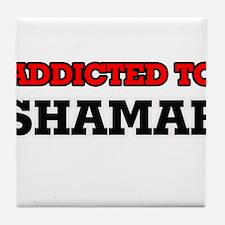 Addicted to Shamar Tile Coaster