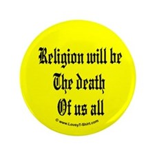 "Religion 3.5"" Button (100 pack)"