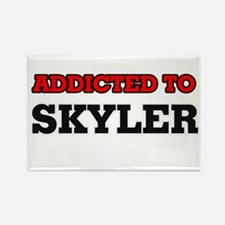 Addicted to Skyler Magnets
