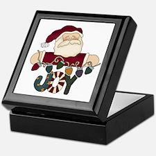 Santa Joy Keepsake Box