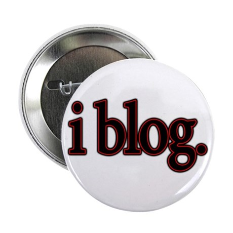 "i blog. 2.25"" Button (10 pack)"