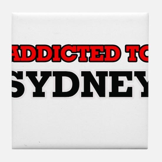 Addicted to Sydney Tile Coaster