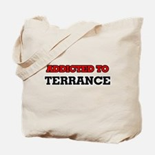 Addicted to Terrance Tote Bag