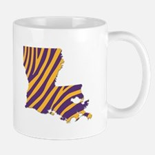 Louisiana Tiger Stripes Mugs