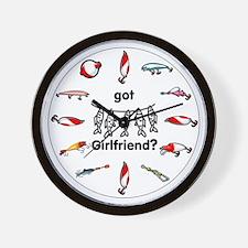 Got Girlfriend? Wall Clock