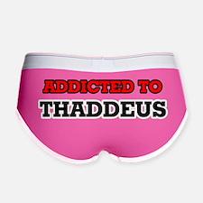 Funny Thaddeus Women's Boy Brief