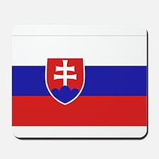 Slovak Flag Mousepad
