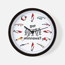 got minnows? Wall Clock