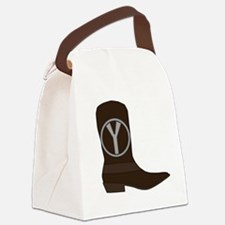 Funny Western y Canvas Lunch Bag