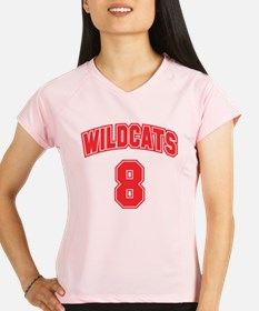 wildcats8 Performance Dry T-Shirt