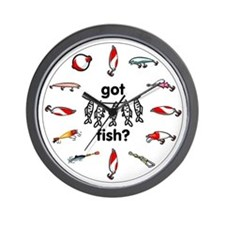 got fish? Wall Clock