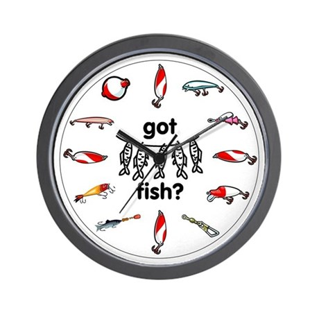 Got fish wall clock by mnlakewear for Fish wall clock