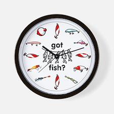 got fish? Wall Clock