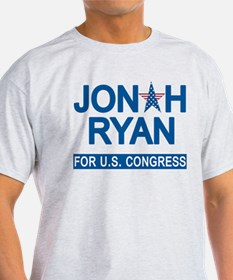 JONAH RYAN for US CONGRESS T-Shirt