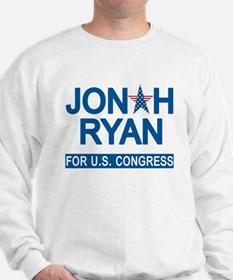 JONAH RYAN for US CONGRESS Sweatshirt