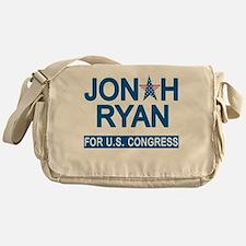JONAH RYAN for US CONGRESS Messenger Bag