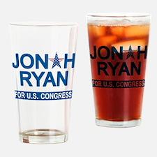 JONAH RYAN for US CONGRESS Drinking Glass