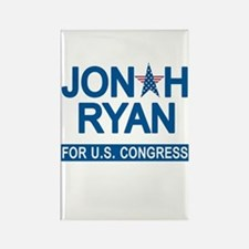 JONAH RYAN for US CONGRESS Rectangle Magnet