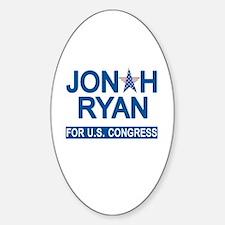 JONAH RYAN for US CONGRESS Bumper Stickers
