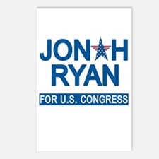 JONAH RYAN for US CONGRES Postcards (Package of 8)