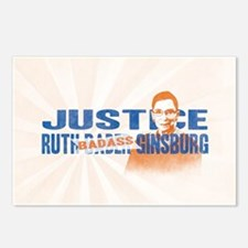 Ruth Badass Ginsburg Postcards (Package of 8)