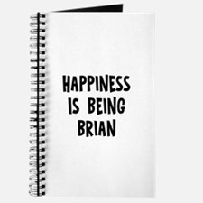 Happiness is being Brian Journal