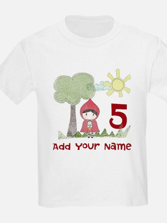 Little Red Riding Hood Birthday T-Shirt