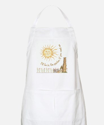 In the Garden by Leah BBQ Apron