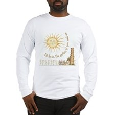 In the Garden by Leah Long Sleeve T-Shirt
