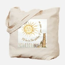 In the Garden by Leah Tote Bag