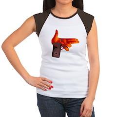 Handgun Women's Cap Sleeve T-Shirt