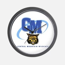 Central Mountain Wrestling 10 Wall Clock