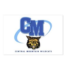 Central Mountain Wrestling 10 Postcards (Package o