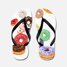 Cool Botanical Flip Flops