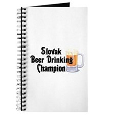 Slovak Beer Drinking Champion Journal