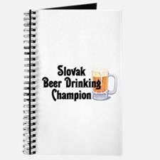 Slovak Beer Drinking Champion Journal