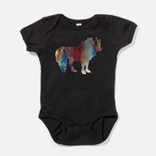 Funny Animal art Baby Bodysuit