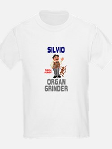 SILVIO THE ITALIAN ORGAN GRINDER T-Shirt