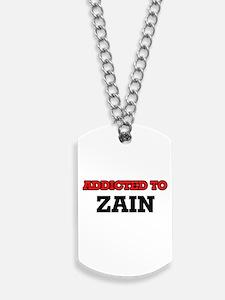 Addicted to Zain Dog Tags
