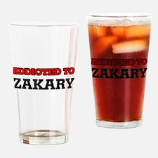 Addicted to Zakary Drinking Glass